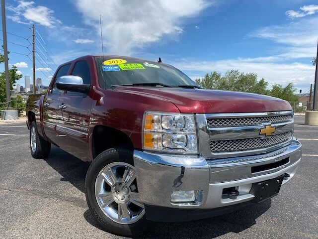 2013 chevrolet silverado 1500 lt 4x4 4dr crew cab 5.8 ft. sb cars - denver, co at geebo