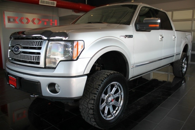 2010 Ford F 150 4wd Platinum Crew Cab Lifted Inventory