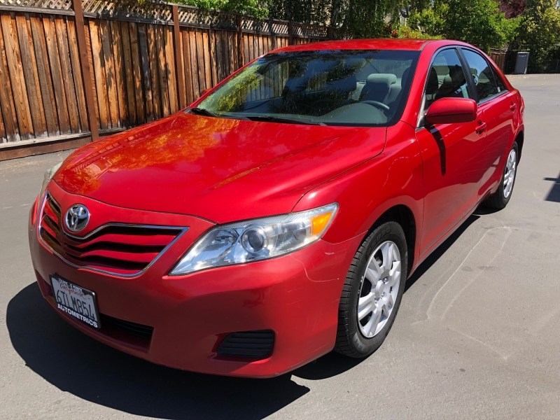 2011 toyota camry 4dr sdn i4 auto le cars - san jose, ca at geebo