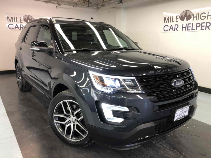 2017 ford explorer sport loaded and gorgeous cars - denver, co at geebo