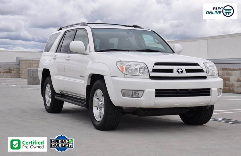 2005 toyota 4runner limited 4dr suv cars - orange, ca at geebo