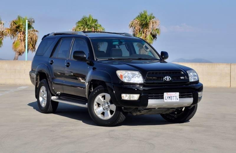 2003 toyota 4runner limited 4dr suv cars - orange, ca at geebo