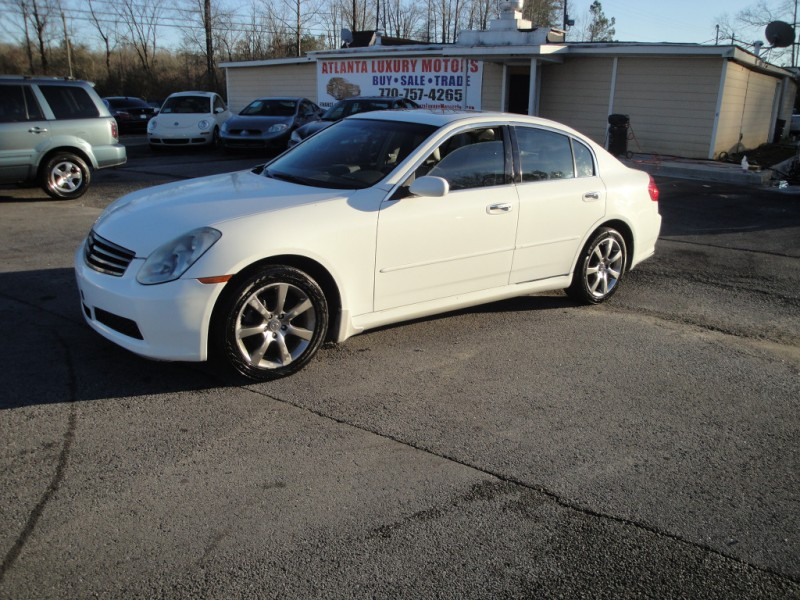 2005 infiniti g35 sedan g35x 4dr sdn awd auto white 2005. Black Bedroom Furniture Sets. Home Design Ideas