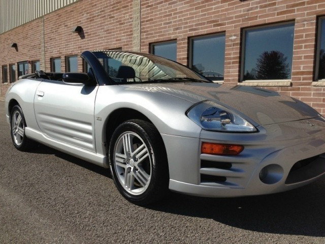 purchase used 2005 mitsubishi eclipse 2dr conv spyder gt 3. Black Bedroom Furniture Sets. Home Design Ideas