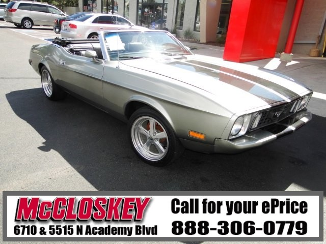 1973 Ford Silver 1973 Ford Mustang Classic Car In