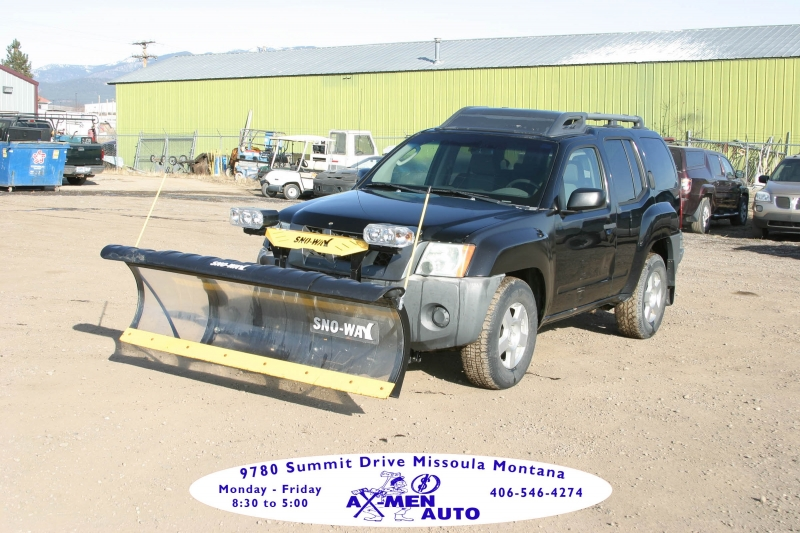 2008 nissan xterra 4wd 4dr auto s with plow cars - missoula, mt at geebo