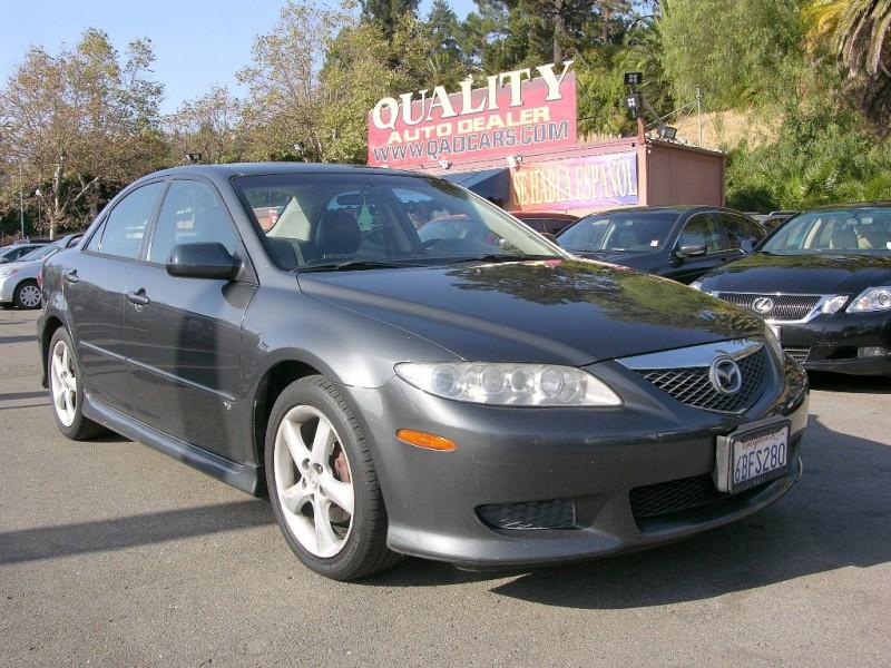 2003 Mazda Mazda6 4dr Sdn s Auto V6 Gray Gray 117277 miles Stock QAD31941 VIN 1YVHP80D935M3