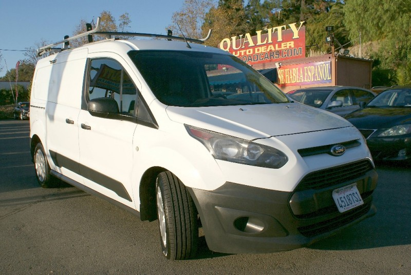 2014 Ford Transit Connect LWB XL White Gray 95677 miles Stock QDA49038 VIN NM0LS7E75E1149