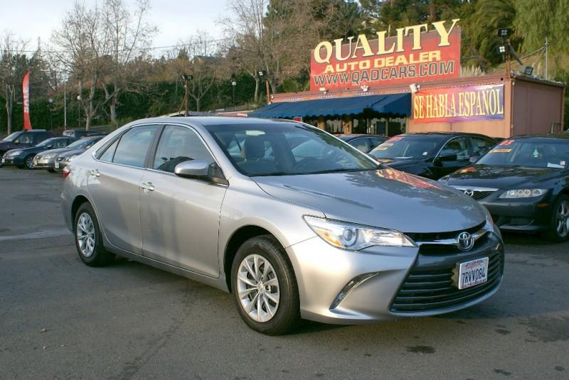 2016 Toyota Camry 4dr Sdn I4 Auto LE Silver Gray 64350 miles Stock QAD81051 VIN 4T1BF1FK3GU