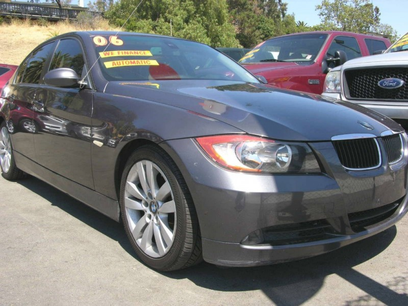 2006 BMW 3 Series 325i 4dr Sdn RWD Gray Gray 86399 miles Stock QAD02391 VIN WBAVB13516PT0