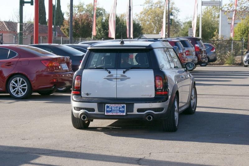 2009 Mini Cooper Clubman SAuto 2dr Cpe S Silver Black 78660 miles Stock QAD90212 VIN WMW