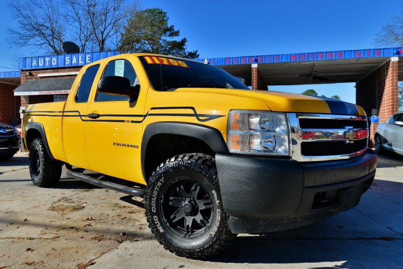 used 2007 chevrolet silverado 1500 ltz for sale raleigh nc cargurus. Black Bedroom Furniture Sets. Home Design Ideas