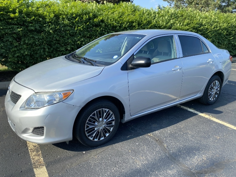 2010 toyota corolla 4dr sdn auto cars - akron, oh at geebo