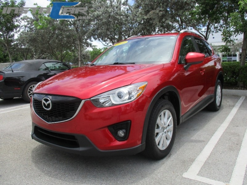2014 Mazda CX-5 FWD 4dr Auto Touring Very clean in and out Red Gray 125696 miles Stock 326824