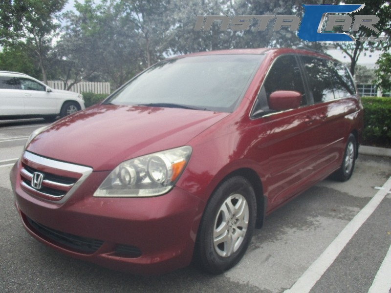 2006 Honda Odyssey 5dr EX-L AT Very clean in and out Red Brown 161000 miles Stock 403792 VIN