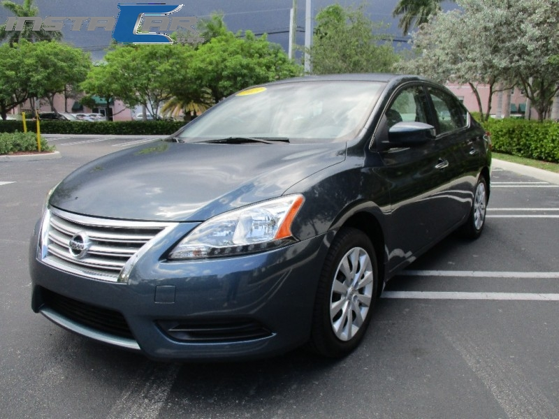 2013 Nissan Sentra 4dr Sdn I4 CVT SR Very clean in and out Green Beige 57043 miles Stock 7225
