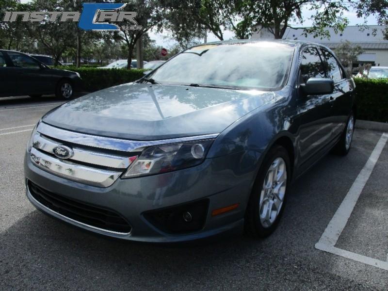 2011 Ford Fusion 4dr Sdn SE FWD Green Beige 88488 miles Stock 182961 VIN 3FAHP0HA3BR182961