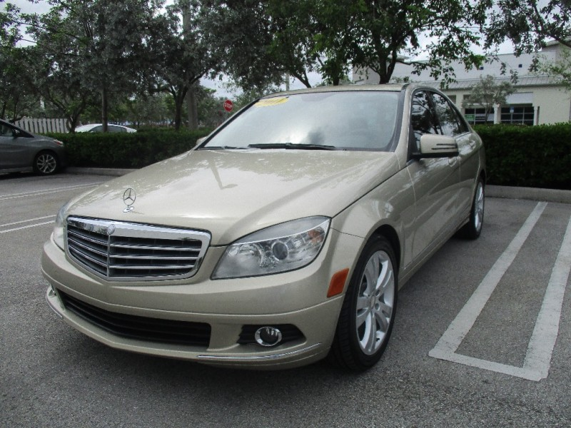 2011 Mercedes C-Class Beautiful vehicle very clean interior and exterior Gold Beige 85228 miles