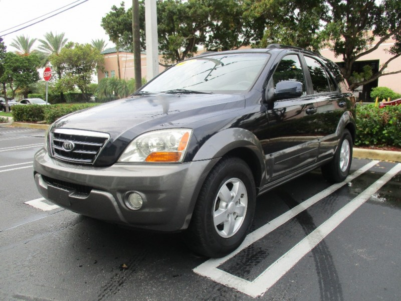 2008 Kia Sorento 2WD 4dr EX Very clean in and out everything working properly Blue Gray 97000