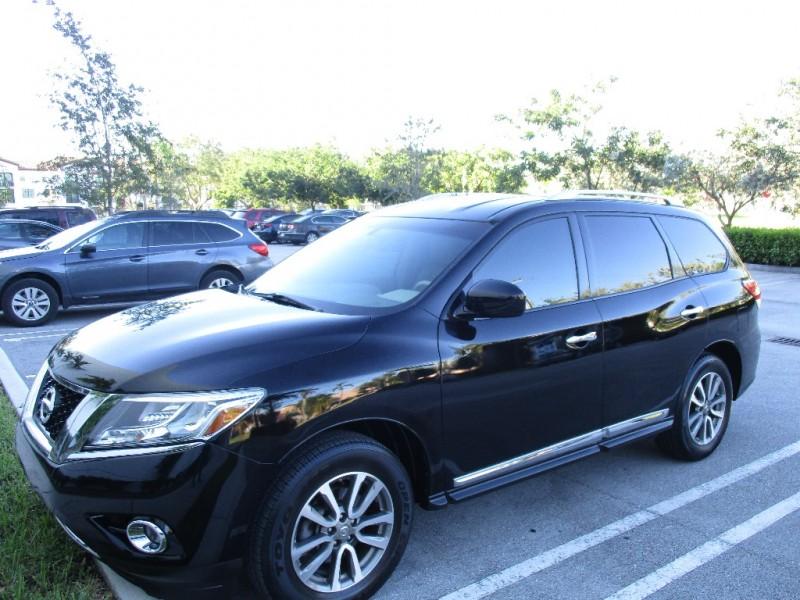 2013 Nissan Pathfinder 2WD 4dr Platinum Black Beige 69998 miles Stock 656687 VIN 5N1AR2MN3D