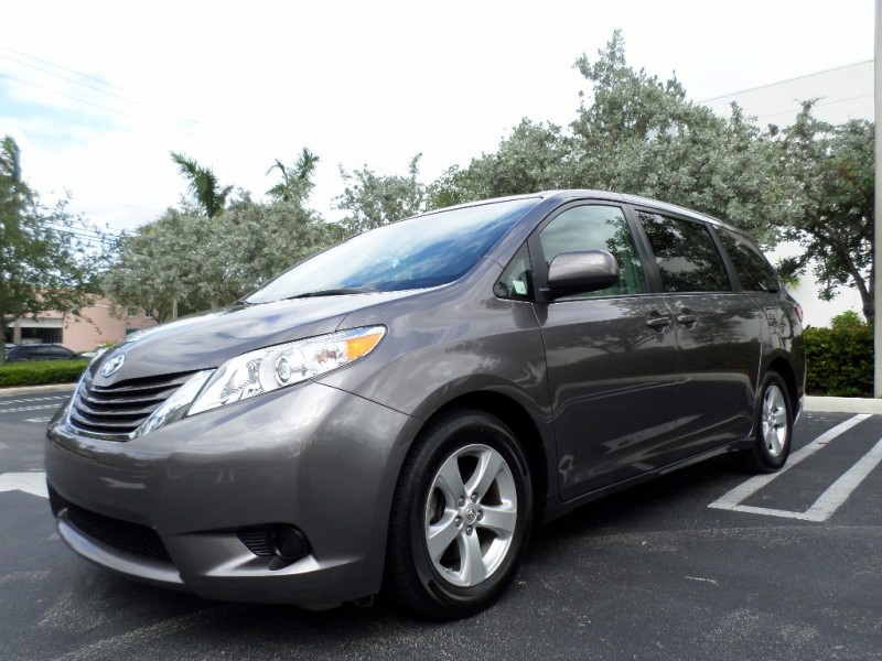 2015 Toyota Sienna LE Roomy functional feature-filled and stylish the updated and enhanced 2015