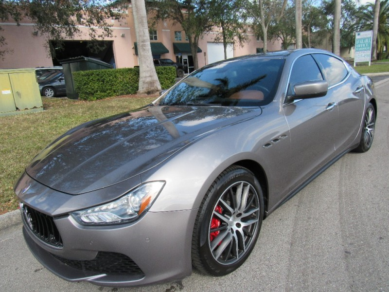 2014 Maserati Ghibli 4dr Sdn S Q4 This Maserati has been specified with a vast array of optional e