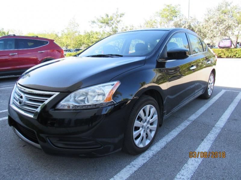 2013 Nissan Sentra 4dr Sdn I4 CVT SV REBUILT TITLEVERY GOOD CONDITIONS Black Black 51909 mi