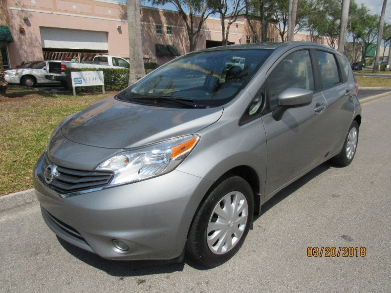 2015 Nissan Versa Note 5dr HB CVT 16 S Plus VERY GOOD CONDITIONS Gray Black 3 miles Stock