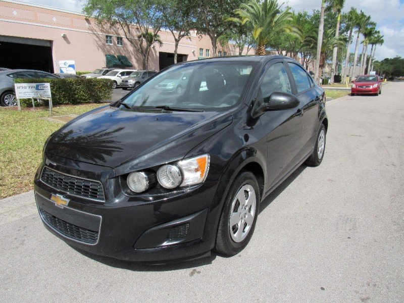 2014 Chevrolet Sonic 4dr Sdn Auto LS VERY GOOD CONDITIONS Black Black 105484 miles Stock 1