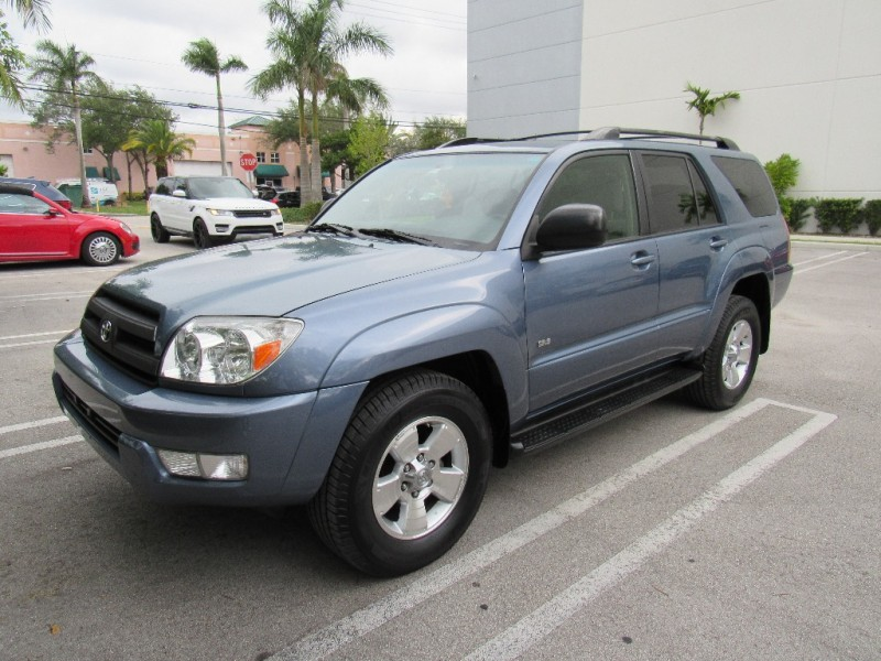 2005 Toyota 4Runner 4dr SR5 V6 Auto Very clean in and out Blue Beige 130000 miles Stock 03808