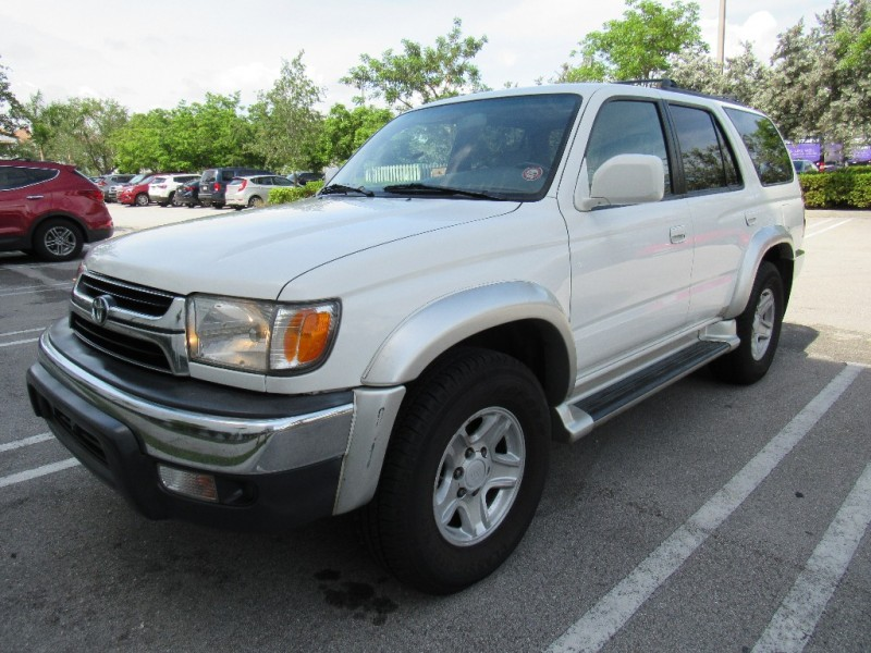 2002 Toyota 4Runner 4dr SR5 34L Auto Very clean in and out White Black 215895 miles Stock 25
