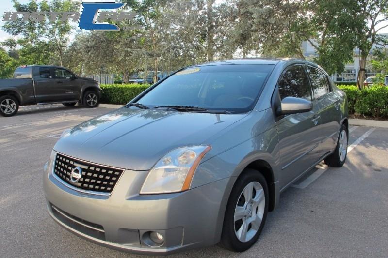2008 Nissan Sentra 4dr Sdn I4 CVT 20 S Gray Black 81223 miles Stock 626372 VIN 3N1AB61E28L