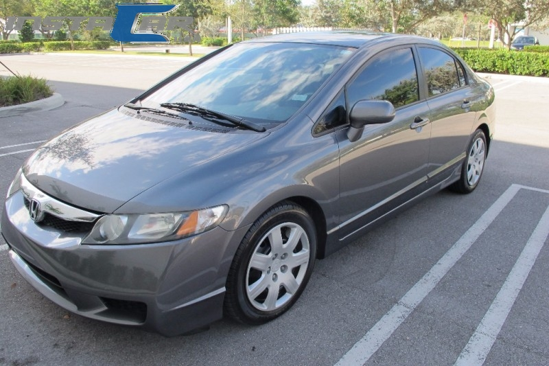 2011 Honda Civic Sdn 4dr Auto LX Very clean in and out Gray Gray 119290 miles Stock 014385