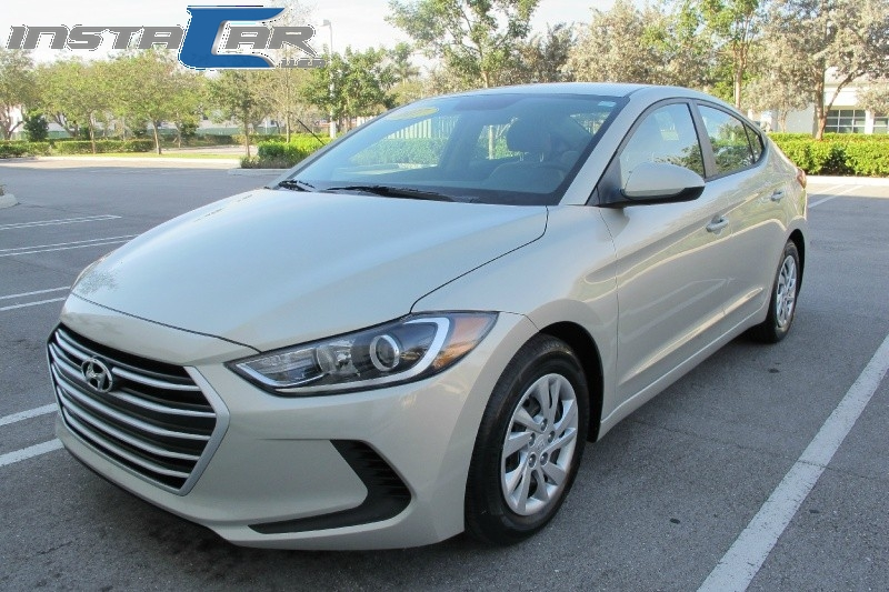 2017 Hyundai Elantra SE 20L Automatic Very clean in and out Tan Tan 16066 miles Stock 076723