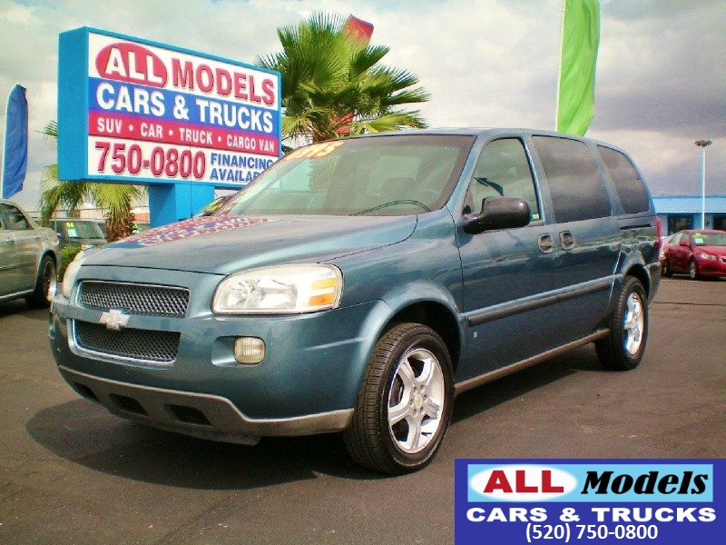 2007 Chevrolet Uplander 4dr Ext WB LS This car is really one of the kind It has all the accessori