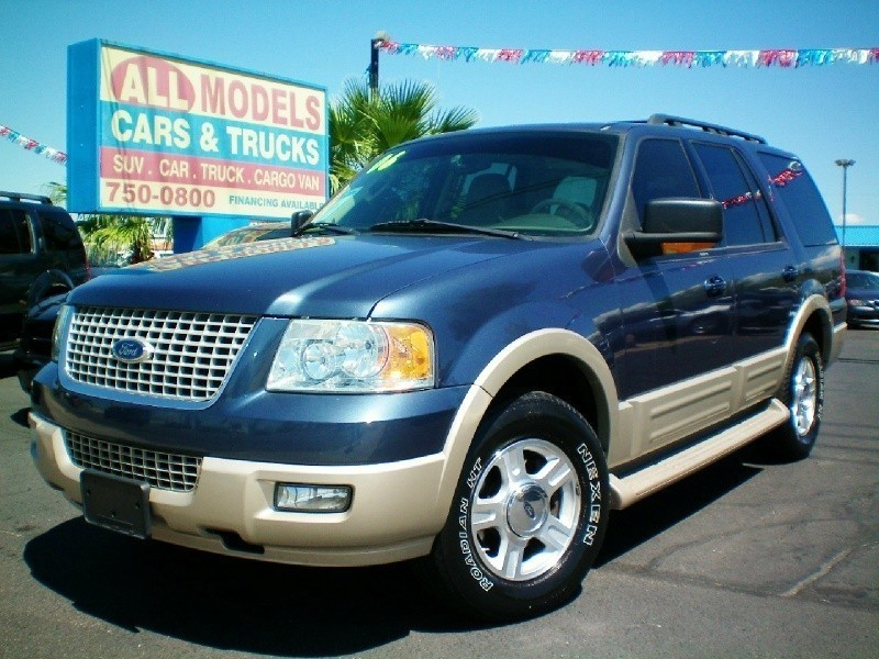 2006 Ford Expedition 4dr Eddie Bauer This car is really one of the kind It has all the accessories