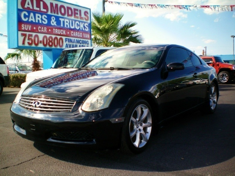 2004 Infiniti G35 Coupe 2dr Cpe Auto wLeather This car is really one of the kind It has all the