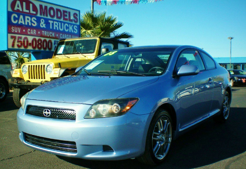 2008 Scion tC 2dr HB Auto Spec  GAS SAVER    This Scion tC is really one of the kind The AC o