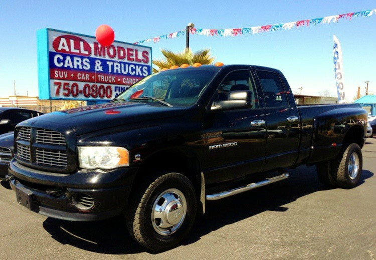 2004 Dodge Ram 3500 4dr Quad Cab 1605 WB DRW 4WD ST Turbo Diesel  Amazing Truck There is nothi