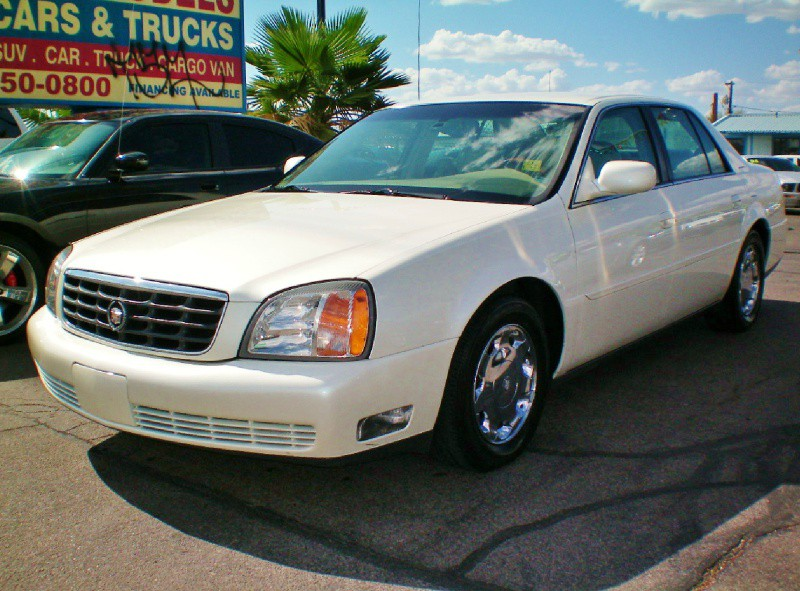 2001 Cadillac DeVille 4dr Sdn STOP LOOKING YOU FOUND YOUR CADILLAC Amazing car It looks gr
