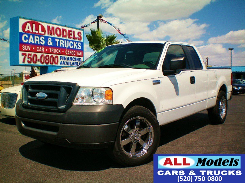 2007 Ford F-150 2WD Supercab 145 YOU FOUND YOUR TRUCK  Amazing Truck  The AC on this veh