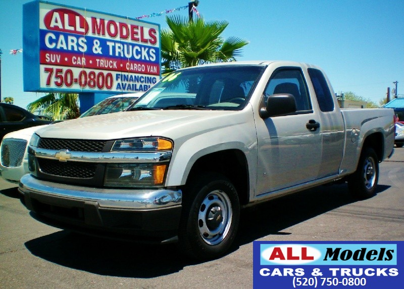 2006 Chevrolet Colorado Ext Cab 1259   2006 Chevrolet Colorado Extended Cab LS Pickup 4D 6 ft