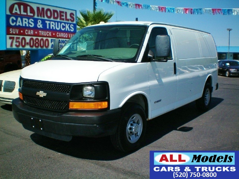 2007 Chevrolet Express 2500 Cargo Van  2007 Chevrolet Express 2500 Cargo Van 3D VIN 1GBGG25V0