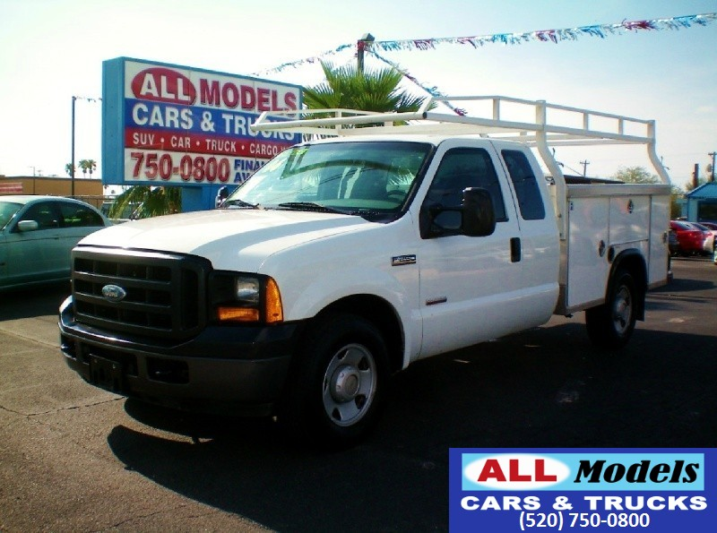 2006 Ford Super Duty F-250 Supercab 158 White Gray 155648 miles Stock C97102 VIN 1FTSX20P9