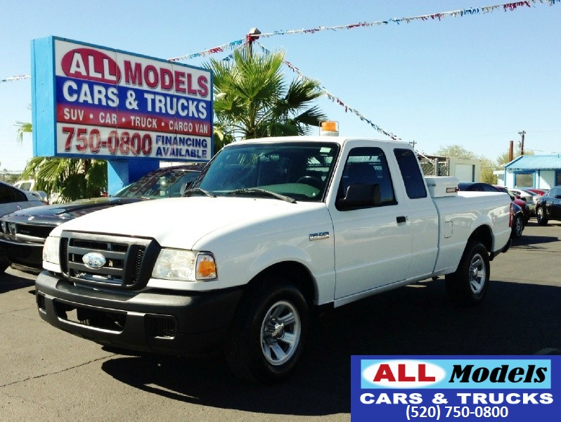 2007 Ford Ranger 2WD 2dr SuperCab 126  2007 Ford Ranger Super Cab XL Pickup 2D 6 ft Utility VIN 1