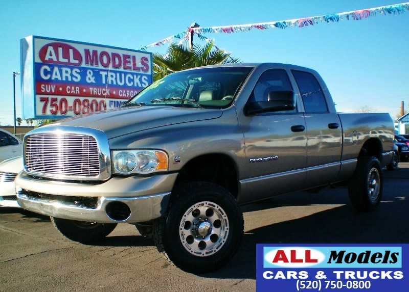 2004 Dodge Ram 2500 4dr Quad Cab 1405 Stop Looking  you found your Truck  Turbo Diesel