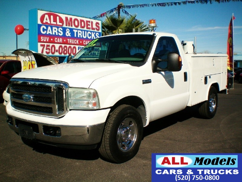 2007 Ford Super Duty F-250 2WD Reg Cab 137   2007 Ford F250 Super Duty Regular Cab XLT UTILITY
