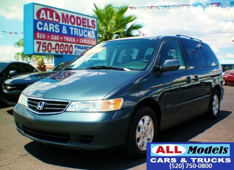 2003 Honda Odyssey 5dr EX-L wDVDLeather  2003 Honda Odyssey EX-L Minivan 4D  VIN 5FNRL18023B