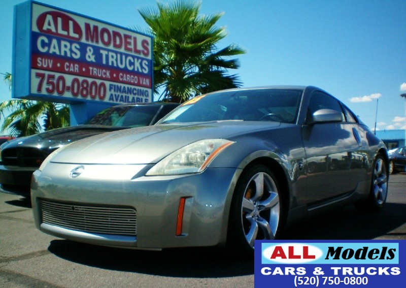 2005 Nissan 350Z 2dr Cpe Performance Manual   2005 Nissan 350Z Touring Coupe 2D  VIN JN1AZ3