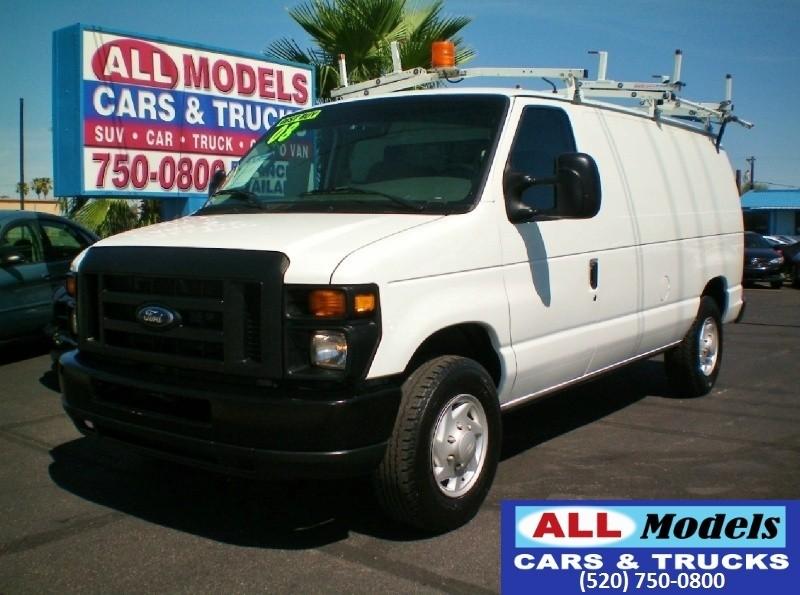 2008 Ford Econoline Cargo Van E-250 Commercial  2008 Ford E250 Cargo Van 3D  VIN 1FTNE24L08